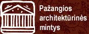 logo pazangios architekturines mintys pam.lt